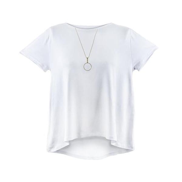 חולצת תכשיט לבנה - גביז
