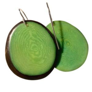 עגיל טאגווה ירוק
