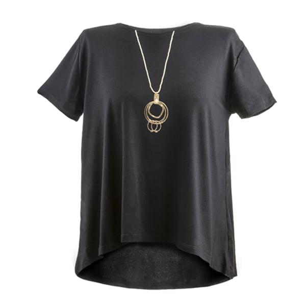 חולצת תכשיט - שרשרת זהב דגם רונה