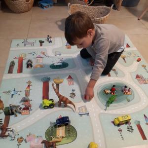 שטיח PVC לחדרי ילדים