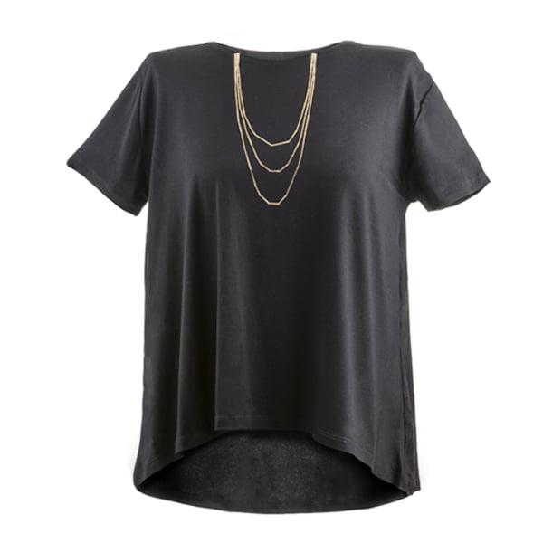 חולצת תכשיט - שרשרת זהב